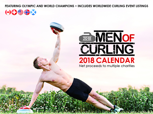 Men of Curling 2018 Calendar
